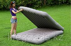 Двуспальная надувная кровать-матрас 2 в 1, Intex 67744, фото 3