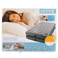Односпальная надувная кровать - матрас 2 в 1, Intex 67743, фото 3
