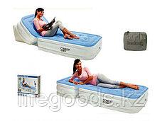 Односпальная надувная кровать с регулируемой спинкой, Bestway 67386, фото 3