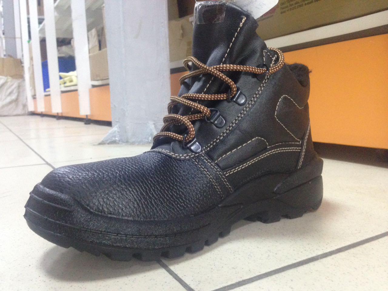 Ботинки кожаные СТИКС РИ утепленные (БОТ 340 ИМ)