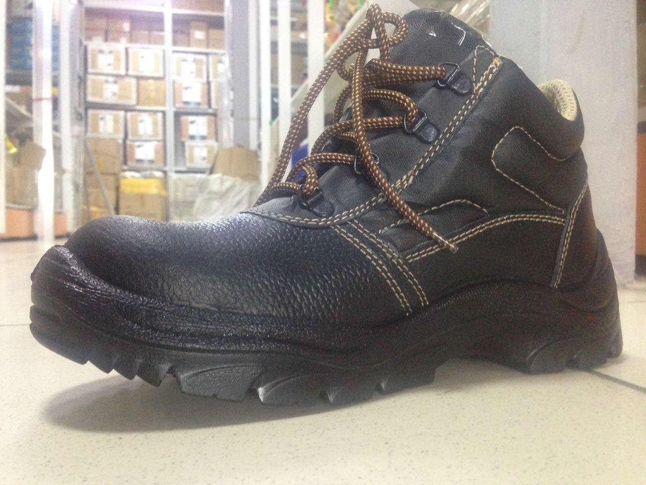 Ботинки кожаные СТИКС ПУ с МП (БОТ 341)
