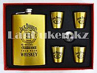 Мужской набор (фляга, 4 рюмки) Jack Daniel's DJH1195
