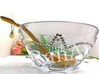 Чашка и ложка для обряда кыркынан шыгару