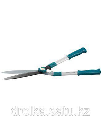 Кусторез ручной RACO 4210-53/221, с волнообразными лезвиями и облегчен.алюминиевыми ручками, 550 мм