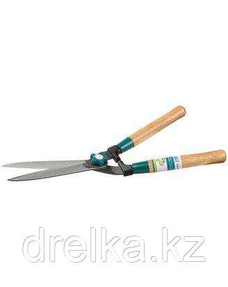 Кусторез ручной RACO 4210-53/217, с деревянными ручками и прямыми лезвиями, 510 мм