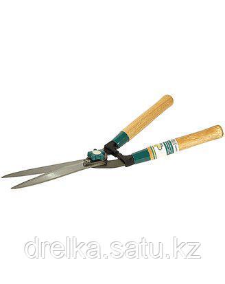 Кусторез ручной RACO 4210-53/218, с волнообразными лезвиями и деревянными ручками, 510 мм