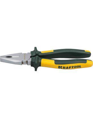 Плоскогубцы Kraftool 180 мм, пассатижи комбинированные Kraft-Max, 22011-1-18