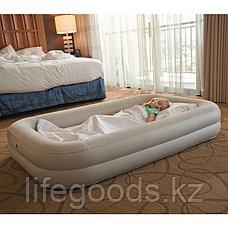 Детская надувная кровать с ручным насосом, Intex 66810, фото 3