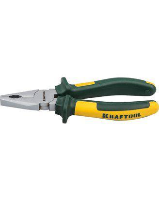 Плоскогубцы Kraftool 200 мм, пассатижи комбинированные Kraft-Max, 22011-1-20