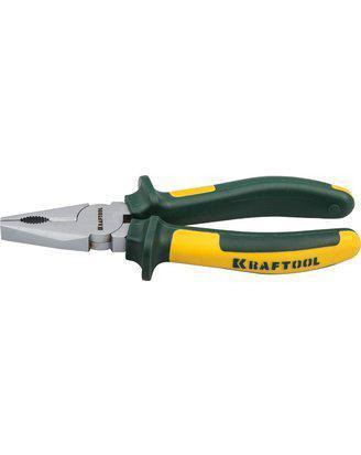 Плоскогубцы Kraftool 200 мм, пассатижи комбинированные Kraft-Max, 22011-1-20, фото 2