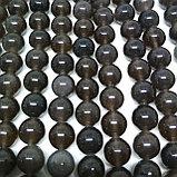 Обсидиан серебристый, 7мм, фото 2