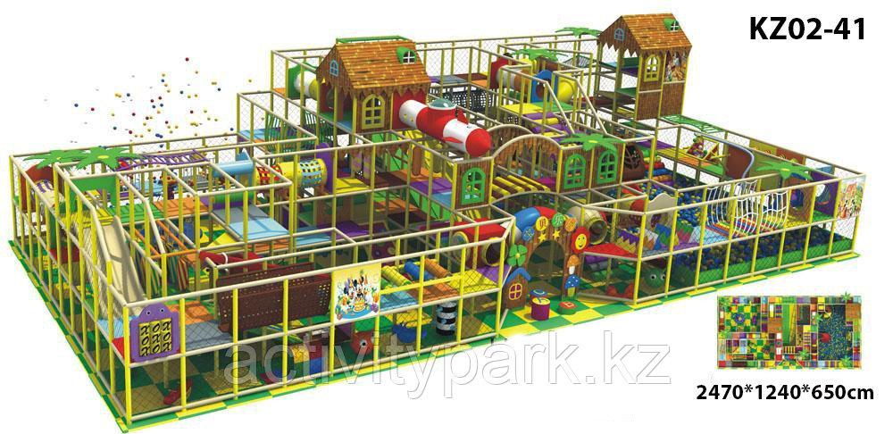 Детский игровой лабиринт для бизнеса
