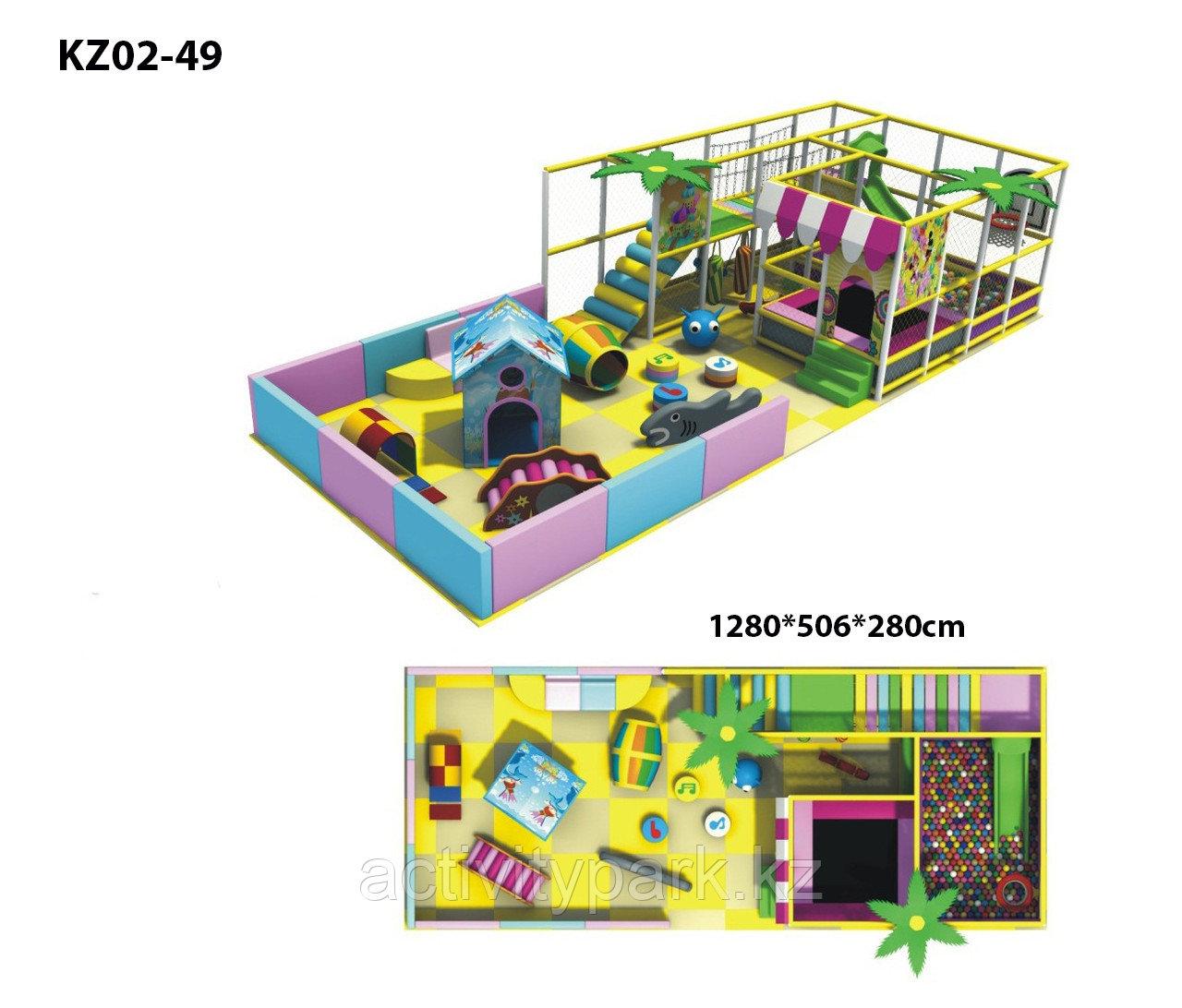 Игровой лабиринт для детских развлекательных центров