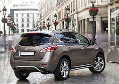Обвес, защита бамперов, порогов из нержавеющей стали Nissan Murano 2011-2016