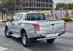 Обвес, защита бамперов, порогов из нержавеющей стали Mitsubishi L200 2015-
