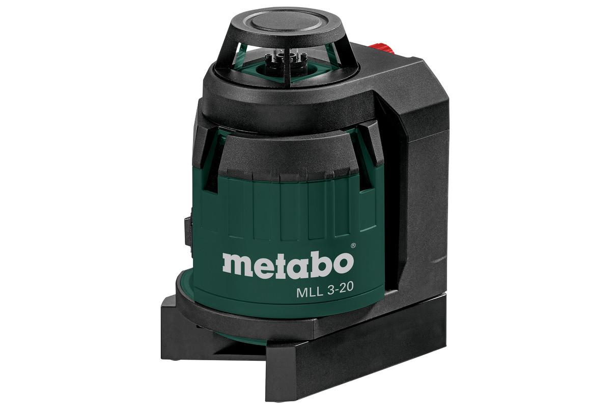 Лазерный нивелир мультилинейный Metabo MLL 3-20 360 град