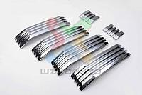 Хром накладка на решетку радиатора Prado 150 2017-20