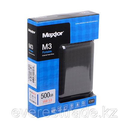 """Внешний жёсткий диск Seagate (Maxtor) 500GB 2.5"""" STSHX-M500TCBM USB 3.0, фото 2"""