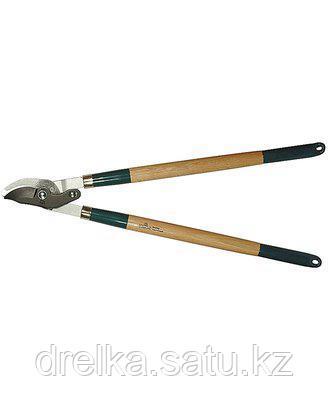 Сучкорез садовый RACO 4213-53/246, с дубовыми ручками, 2-рычажный, рез до 40мм, 700мм , фото 2