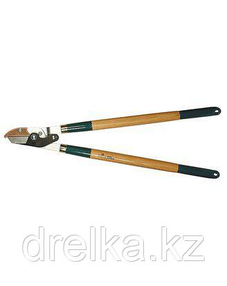 Сучкорез садовый RACO 4213-53/272, с дубовыми ручками, 2-рычажный, с упорной пластиной, рез до 40мм, 700мм , фото 2