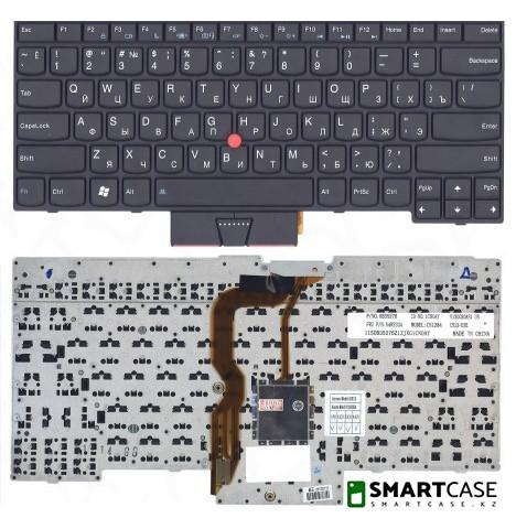 Клавиатура для ноутбука Lenovo Thinkpad T430U (черная, ENG)