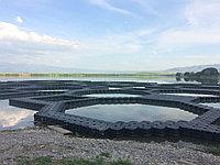 Садковые хозяйства для разведения рыбы из пластиковых понтонов, фото 1