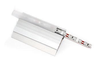 Алюминиевый профиль для подсветки в комплекте с рассеивателем  (для ступеней  HC-630 51х25мм)