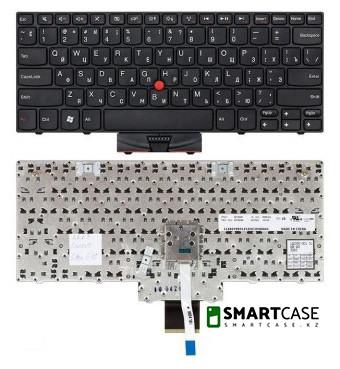 Клавиатура для ноутбука Lenovo Thinkpad Edge E10 с тензометрическим джойстиком (черная, ENG)