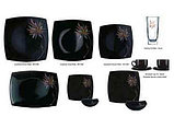 Столовый сервиз PINK SORBET BLACK 44 предмета на 6 персон, фото 2