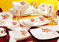 Столовый сервиз PINK SORBET белый 44 предмета на 6 персон, фото 1