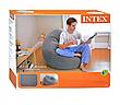 Надувное кресло - пуфик Beanless Bag Chair, Intex 68579, фото 3