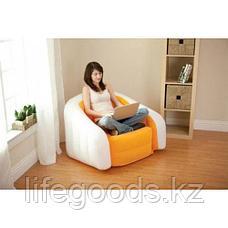 Надувное кресло Cafe Club Chair, Intex 68571, фото 3