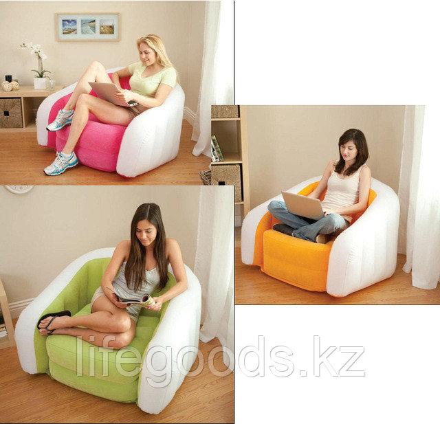 Надувное кресло Cafe Club Chair, Intex 68571