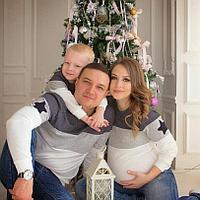 Парная одежда для всей семьи (свитшоты женские)
