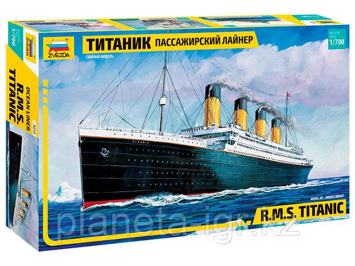"""Сборная модель Пассажирский лайнер """"Титаник"""", 1\700. Звезда"""
