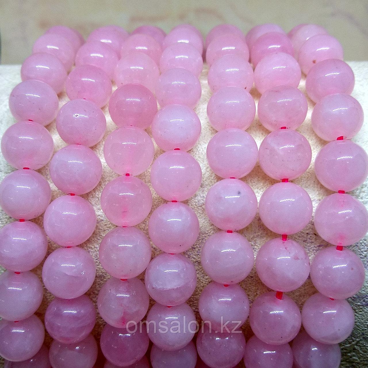 Розовый кварц, 12 мм