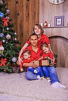 Комлект футболок поло для семьи (цена за детскую футболку)