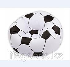 Надувное кресло - пуфик Футбольный мяч, Bestway 75010, фото 3