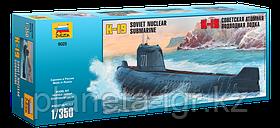 Сборная модель Советская атомная подводная лодка К-19
