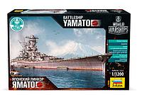 Сборная модель Японский линкор Ямато, 1\1200, Звезда, фото 1