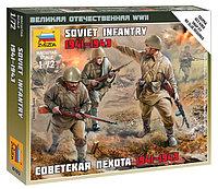 Сборная модель Советская пехота 1941-1943, 1\72, фото 1