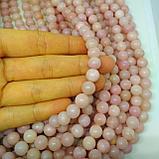 Розовый опал, 8мм, фото 2