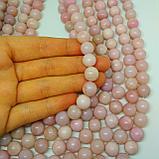 Розовый опал, 10мм, фото 2
