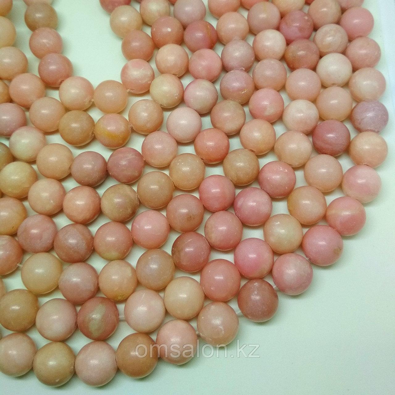 Розовый опал, 12мм
