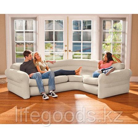Надувной угловой диван Corner Sofa, Intex 68575, фото 2