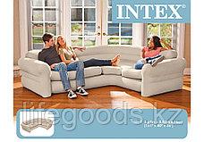 Надувной угловой диван Corner Sofa, Intex 68575, фото 3