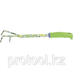 Рыхлитель 3-зубый, пластиковая рукоятка//PALISAD