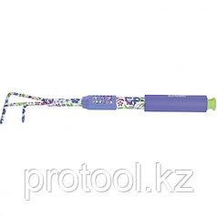 Рыхлитель 3-зубый удлиненный, обрезиненная рукоятка//PALISAD