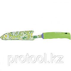 Совок узкий, пластиковая рукоятка//PALISAD