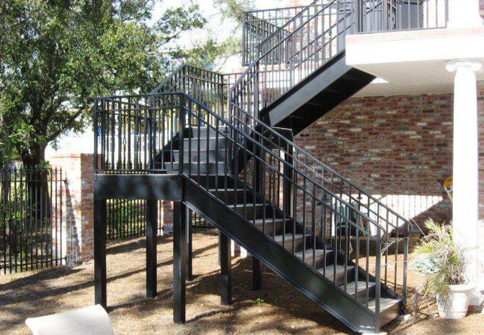 Многомаршевая лестница